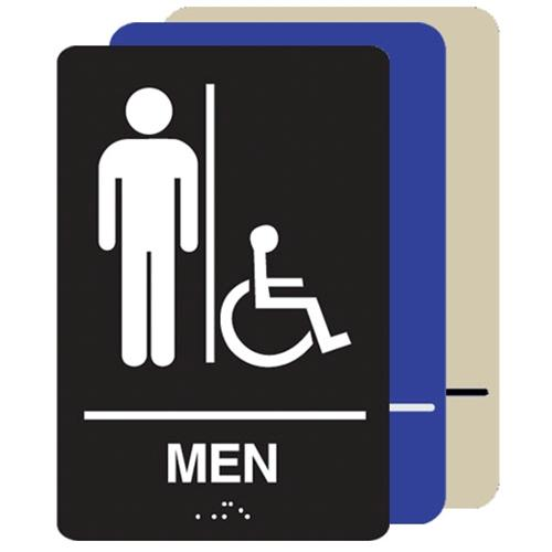 Men's Restroom Handicap Accessible