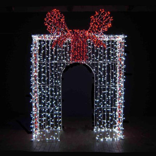 10' X 7' X 3' 3D Mini Light Arch Yard Decoration