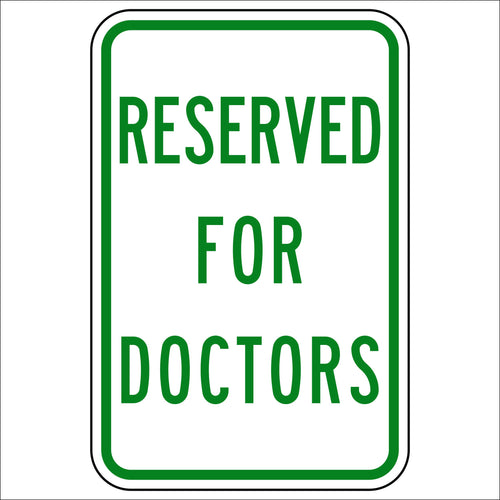 Reserved For Doctors