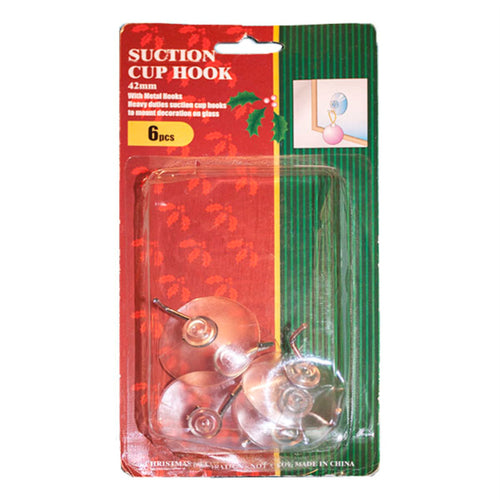 Suction Cup with Hook 42mm | 24pk