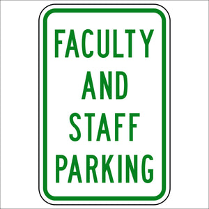 Faculty and Staff Parking