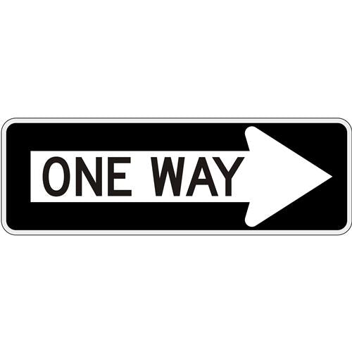 One Way in Right Arrow