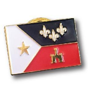Acadian Flag Pin