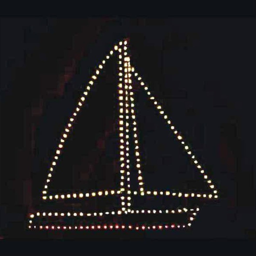 7' Sailboat Yard Decoration