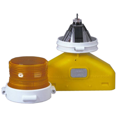 Model 2006DPlus - LED Type D Barricade Light - Solar Assist