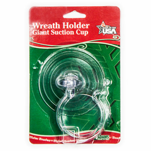 Giant Suction Cup with Wreath Hook 10lbs | 12pk