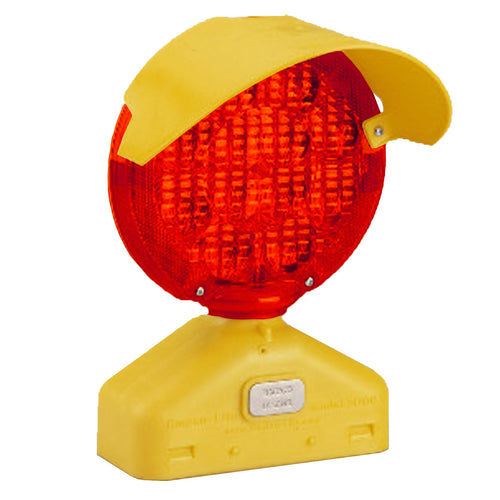 212-3LW LED Type B Barricade Light - Red Lens