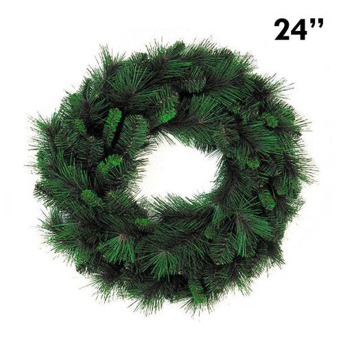 Mixed Pine Christmas Wreath - 24