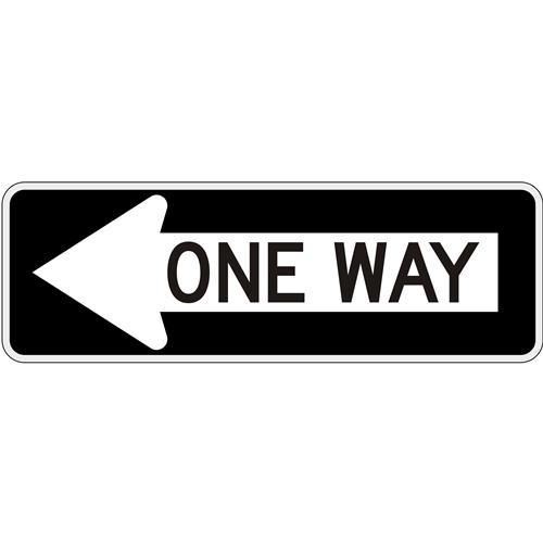 One Way in Left Arrow