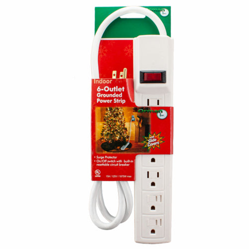 3ft Power Strip with Surge Protector