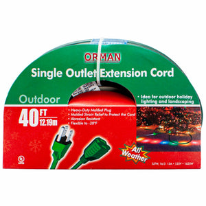 40 ft Single Outlet Extension Cord