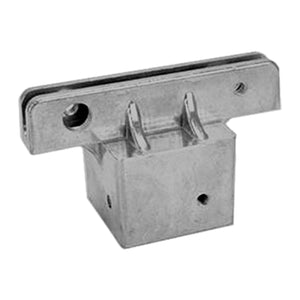 "2"" Square Post Cap - 5 ½"" Flat Street Sign Bracket"
