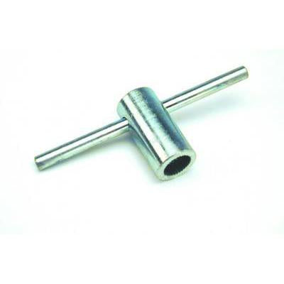 Flared Serrated Nut T Wrench - Vandal Proof Knurled Nut Tool