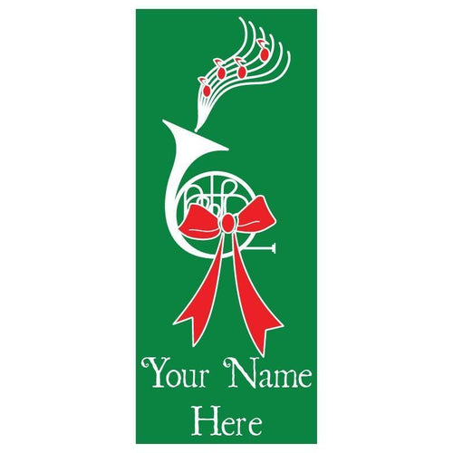 personalized Horn Banner