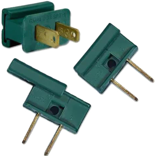 Male Plug Connector - Green | PK-25