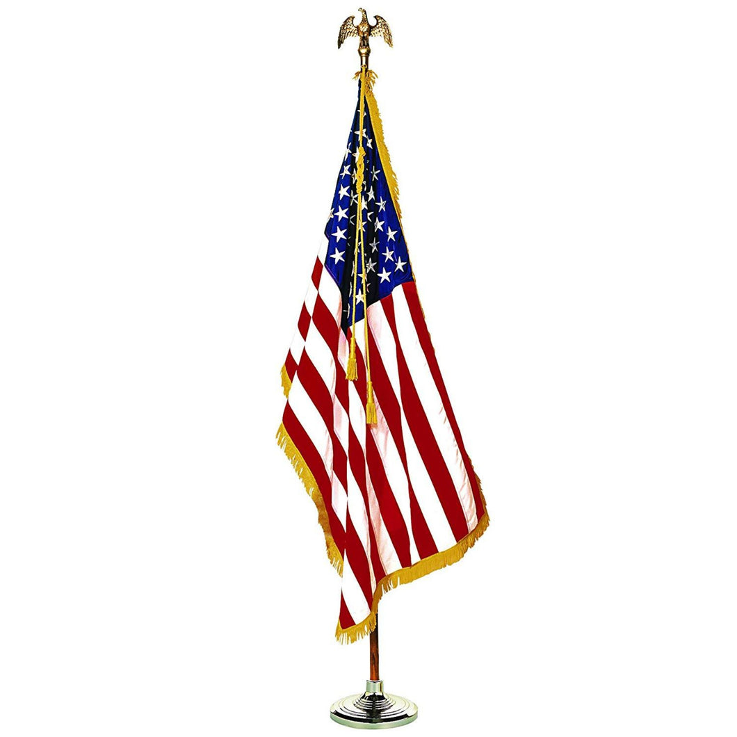 American Flag Indoor Presentation Set