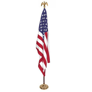 American Flag  3'x5' Presentation Set No-Fringe