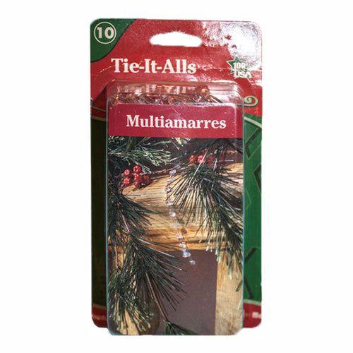 Clear Tie It Alls  | 12pk