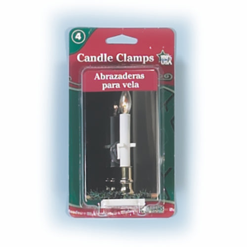Candle Clamp with Suction Cup (4 PK x's 12)