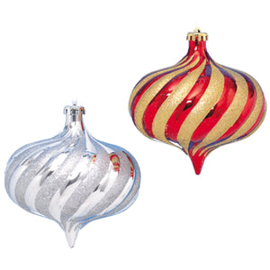 "5.9"" Shatterproof Ornament Set"