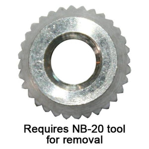 Serrated Nut