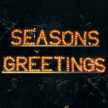 Load image into Gallery viewer, 3' Seasons Greetings Building Front Sign