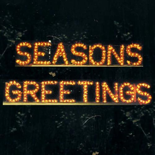 3' Seasons Greetings Building Front Sign