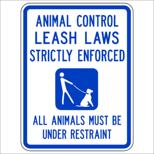 Animal Control - Leash Laws Strictly Enforced