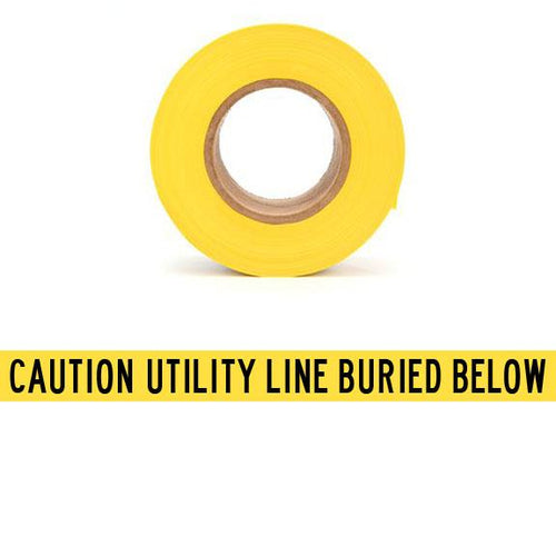 CAUTION UTILITY LINE BURIED BELOW