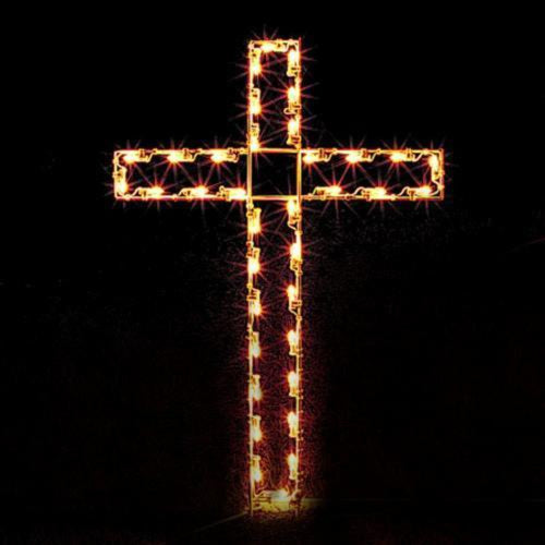 4' Silhouette Cross