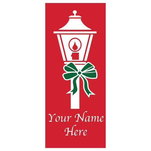 personalized Lamppost Banner