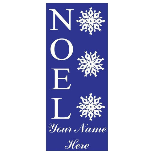 personalized Noel Banner