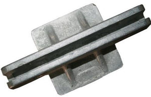 "Square Post Cap Bracket - 2"" Flat"