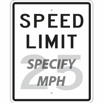 Speed Limit ___