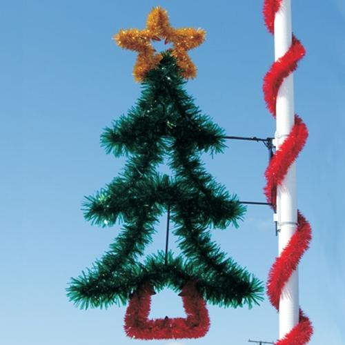7-1/2' Garland Tree with Garland Star