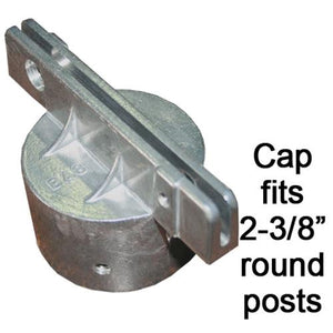 Round Post Caps-Super Lock-Flat