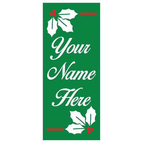 personalized Holly Banner