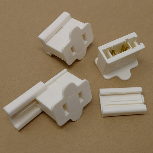 Female End Connector - White | PK-25
