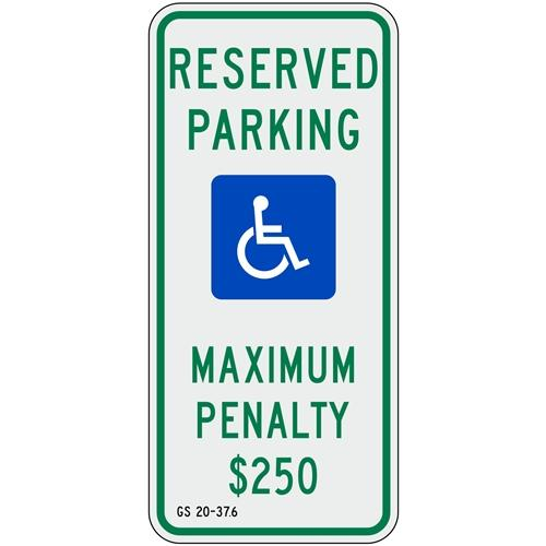 North Carolina Handicap Parking Sign