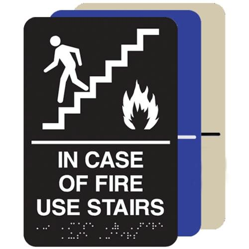 In Case Of Fire Use Stairs