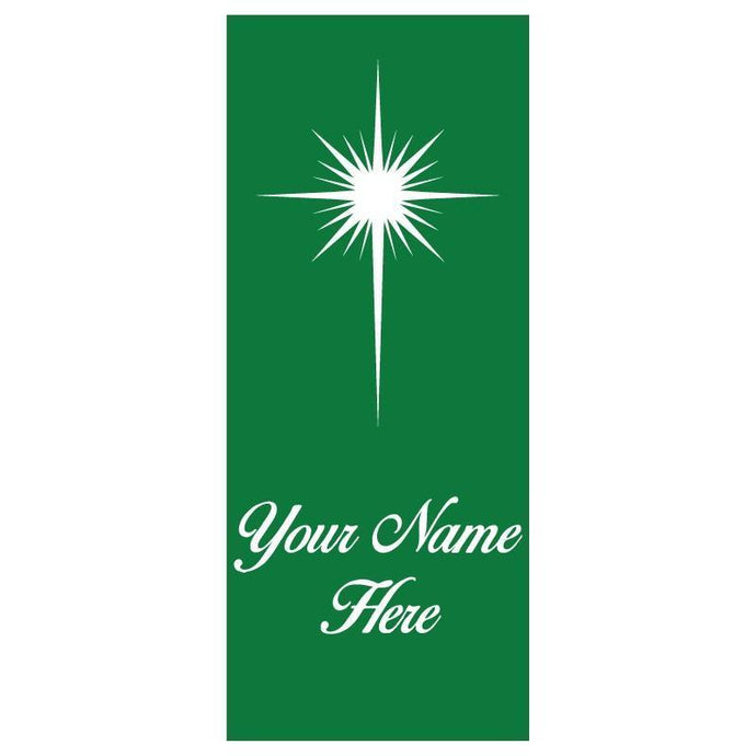 personalized Star Banner
