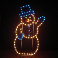 Load image into Gallery viewer, 7' Mr. Snowman Yard Decoration