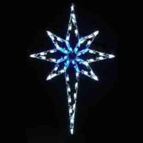 4.8' Residential Star of Bethlehem Yard Decoration