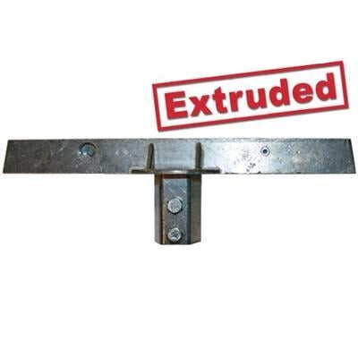 U-Channel Post Caps-Super Lock - Extruded - Jumbo