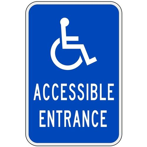 Handicap Accessible Entrance