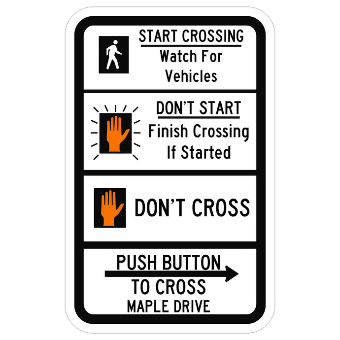 Pedestrian Traffic Signal