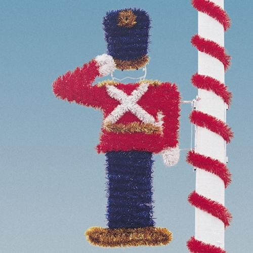 7-1/2' Garland Toy Soldier