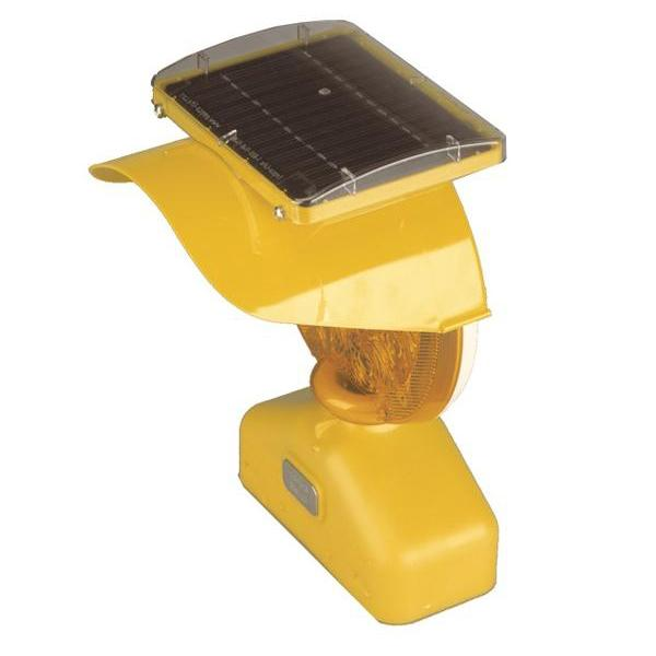 Type B Solar Assist LED Barricade Light