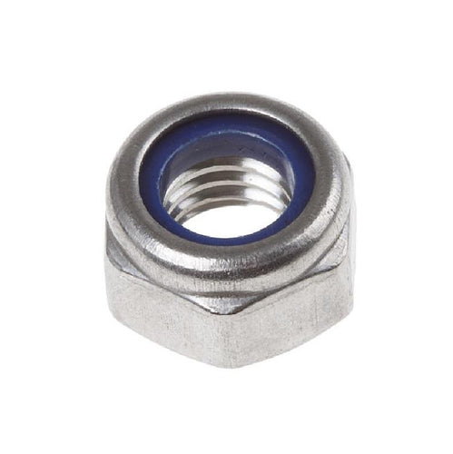 Hex Head Nut with NYLON Insert