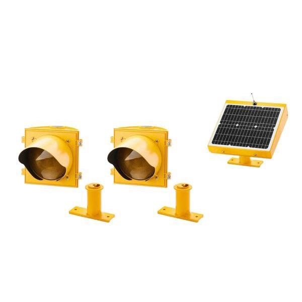 Dual, Overhead Mounting Crosswalk System | AB-3412